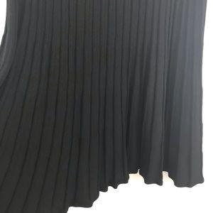 TALBOTS merino wool sweater skirt black 3X NWT